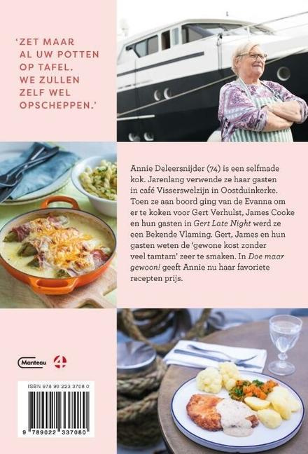Doe maar gewoon! : koken met Annie