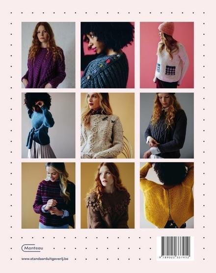 Toffe truien breien : 15 ontwerpen om te combineren tot jouw unieke trui