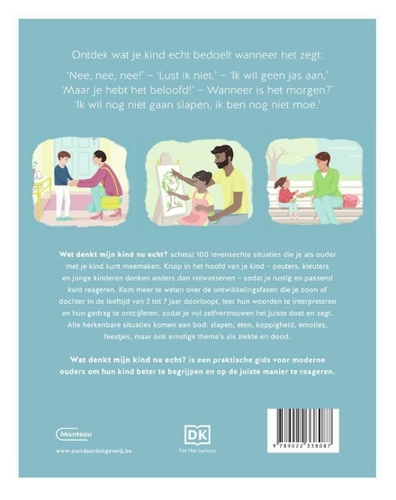 Wat denkt mijn kind nu echt? : 100 situaties uit het leven van alledag om je kind beter te begrijpen en te helpen