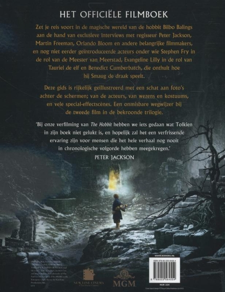 The hobbit : The desolation of Smaug : filmboek