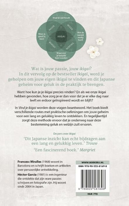 Vind je ikigai : breng het Japanse geheim voor geluk in de praktijk