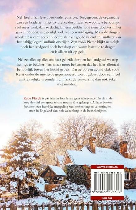 Een kus met kerstmis