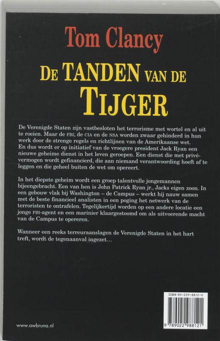 De tanden van de tijger