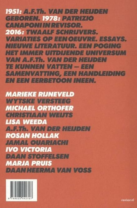 Revisor : halfjaarboek voor nieuwe literatuur. 13, het A.F.Th. Van der Heijden-nummer