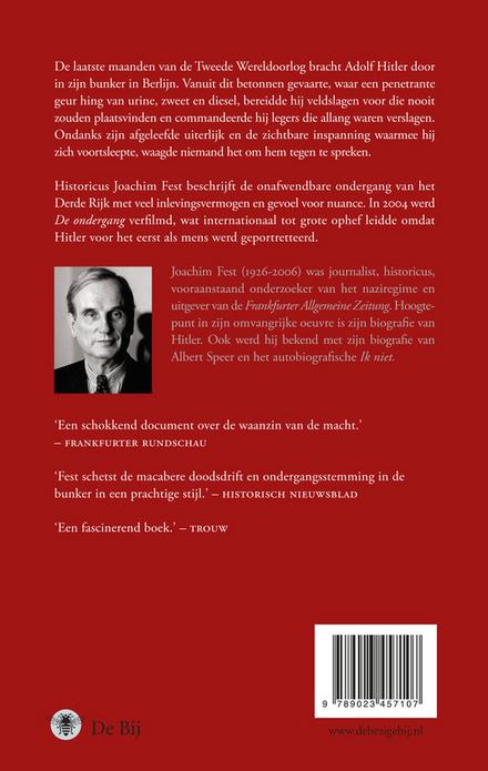 De ondergang : Hitler en het einde van het Derde Rijk