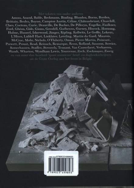 De geschreven oorlog : in Flanders Fields Museum : anthologie van teksten van het front in België 1914-1940