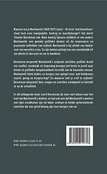 Machiavelli's lef : levensfilosofie voor de vrije mens