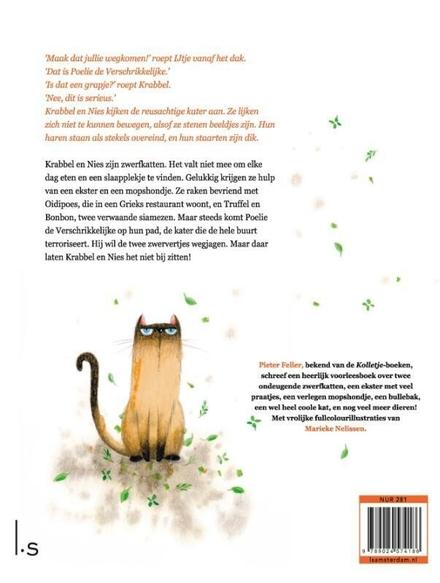 Krabbel & Nies : de avonturen van twee zwerfkatten