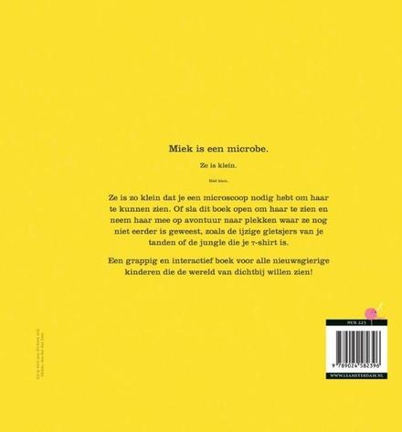 Niet aan dit boek likken* : *het zit onder de vieze beestjes