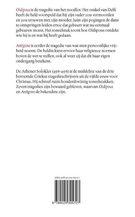 Oidipous ; Antigone