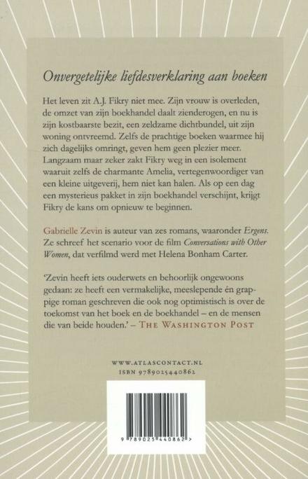 De verzamelde werken van A.J. Fikry, boekhandelaar : roman