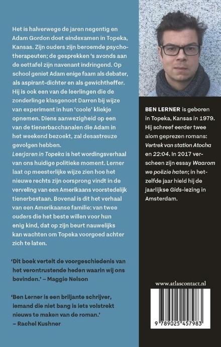 Leerjaren in Topeka : roman