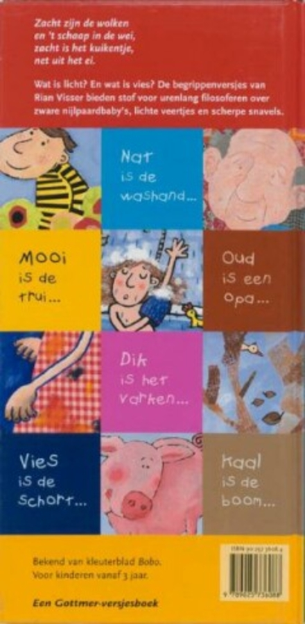 Zacht zijn de wolken : kinderversjes over begrippen