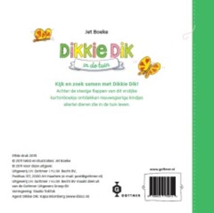 Dikkie dik in de tuin : een flapjesboek