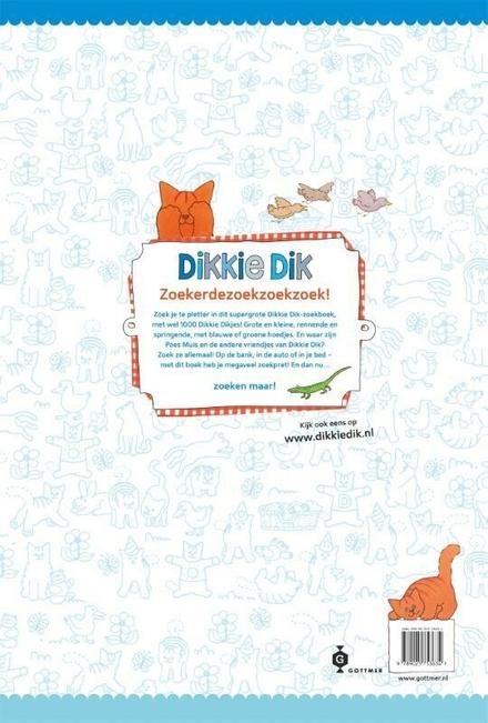Dikkie Dik reuzenzoekboek