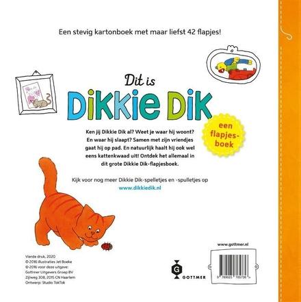Dit is Dikkie Dik : een flapjesboek