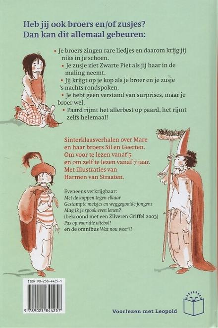Sinterklaas kan best tegen een grapje