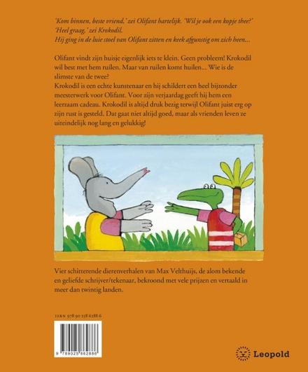Olifant en Krokodil : vrienden voor altijd : vier dierenverhalen