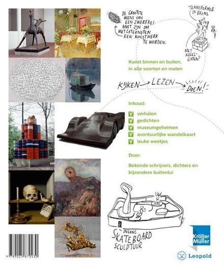 Het stoere kunstboek : op avontuur in het Kröller-Müller Museum