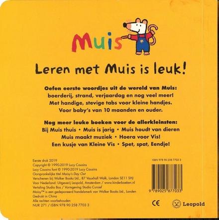 Bij Muis thuis : eerste woordjesboek