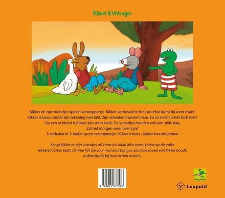 Kikkers dikke vriendjesboek : drie verhalen naar Max Velthuijs