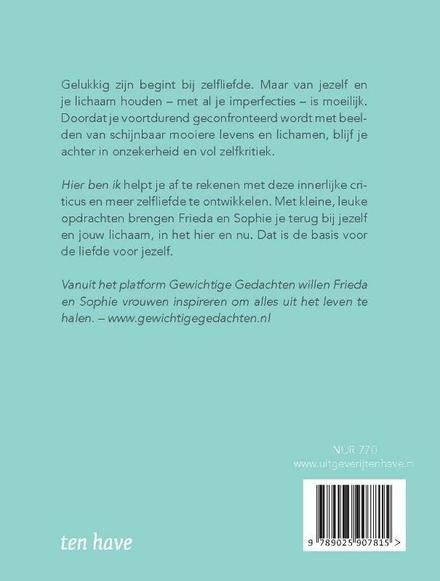 Hier ben ik : creatief zelfboek voor meer zelfliefde