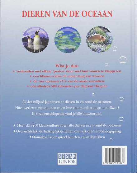 Dieren van de oceaan : encyclopedie voor de jeugd