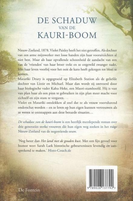 De schaduw van de Kauri-boom