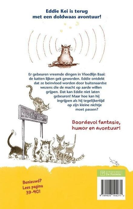 Buitenaards kattenkwaad : het tweede avontuur van Eddie Kei
