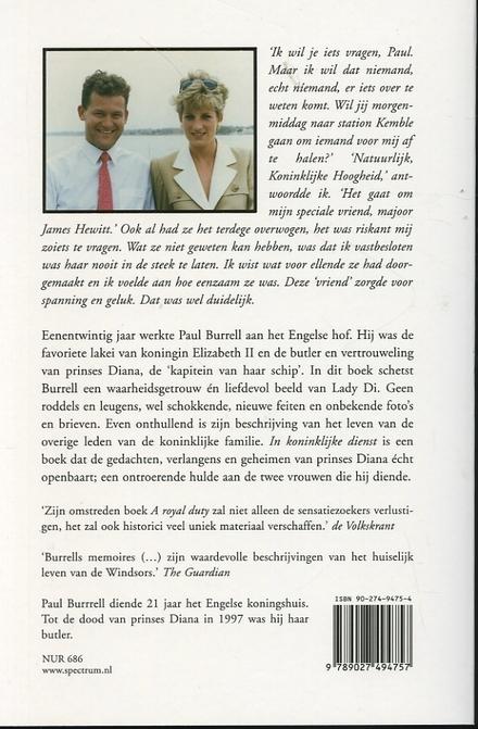 In koninklijke dienst : het verhaal van de butler