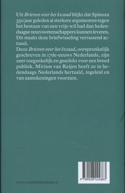 Brieven over het kwaad : de correspondentie tussen Spinoza en Van Blijenbergh