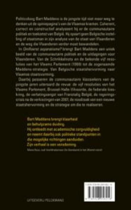 Omfloerst separatisme? : van de vijf resoluties tot de Maddens-strategie