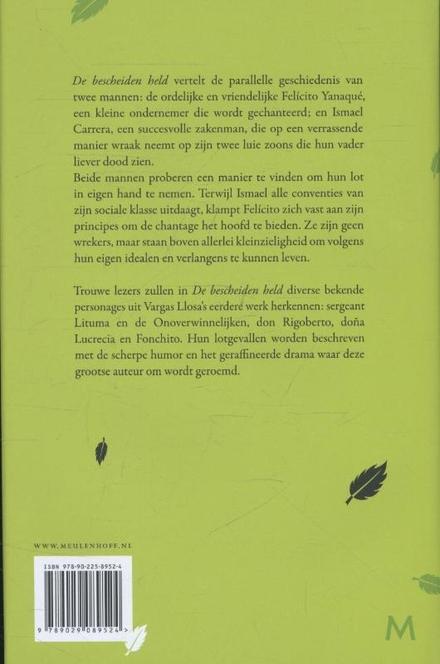 De bescheiden held : roman