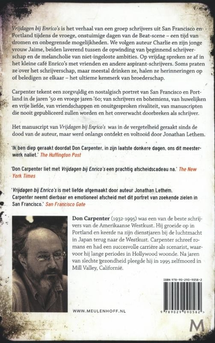 Vrijdagen bij Enrico's : roman