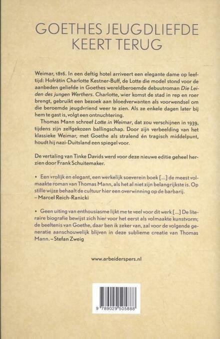 Lotte in Weimar : roman