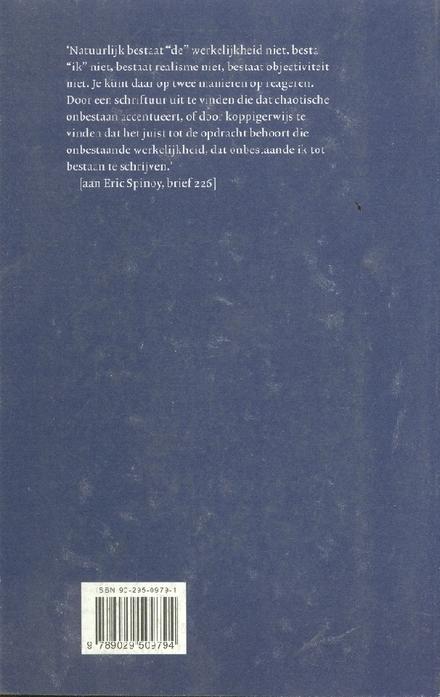 Een aangename postumiteit : brieven 1965-1997