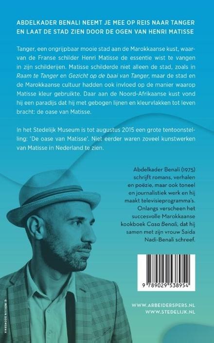 Het blauw van de zee en het blauw van de stad : een reis door Tanger met Benali en Matisse