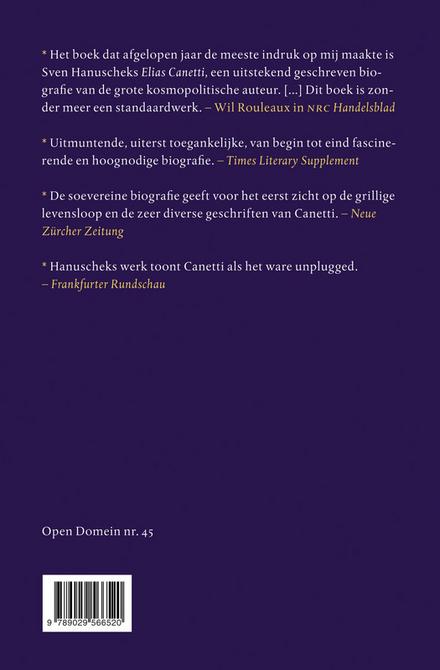 Elias Canetti : de biografie