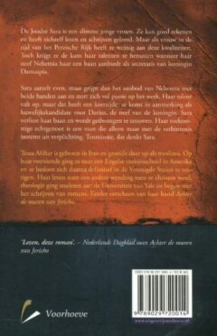 Schrijfster aan het Perzische hof : roman
