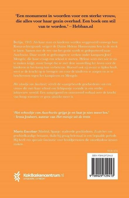 Het schooltje van Auschwitz : roman