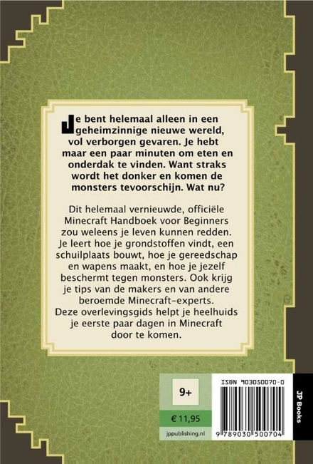 Minecraft : handboek voor beginners : de update