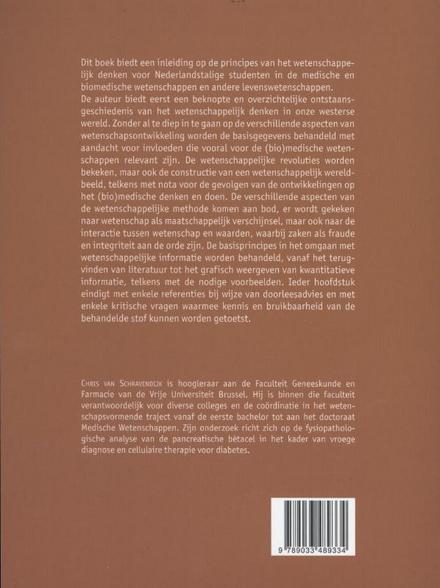Wetenschappelijk denken : een inleiding voor de medische en biomedische wetenschappen