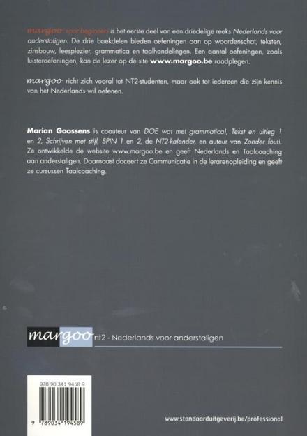 Margoo : Nederlands voor anderstaligen. Deel 1