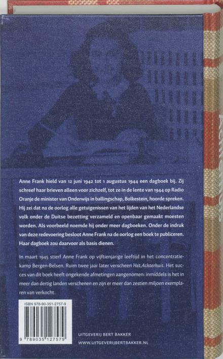 Het Achterhuis : dagboekbrieven 12 juni 1942-1 augustus 1944