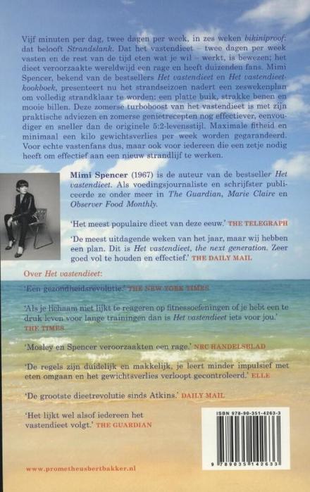 Het vastendieet : strandslank in zes weken