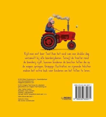 De grote rode tractor : een 'tel tot tien'-verhaal : volg de tractor op zijn tel-avontuur!