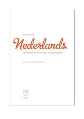 Nederlands : mondelinge en schriftelijke taalvaardigheid. Handboek