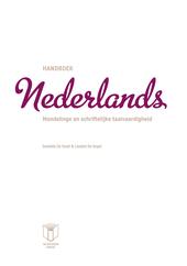 Handboek Nederlands : mondelinge en schriftelijke taalvaardigheid