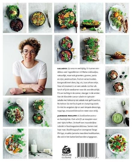 Salade : 100 recepten voor eenvoudige salades & dressings
