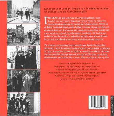 Het Londen van The Beatles : een gids met 467 Beatleslocaties in en om Londen